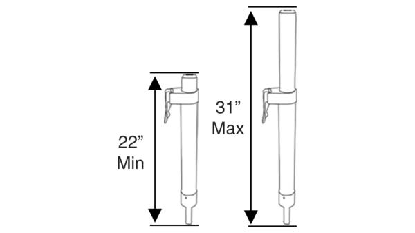 Manual Adjustable Post_Diagram
