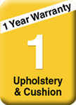 5 year upholstery and cushion warranty