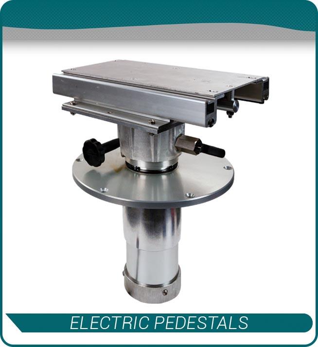 electric pedestals