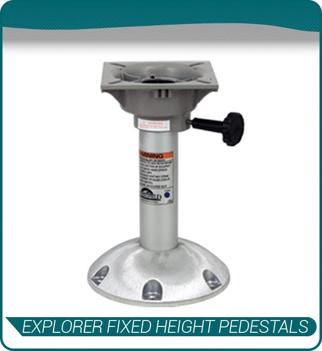 explorer fixed height pedestals