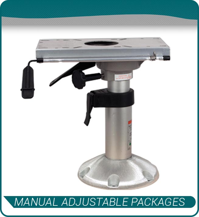 manual adjustable packages