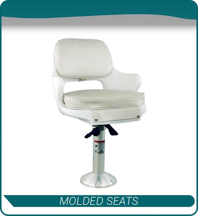 molded seats