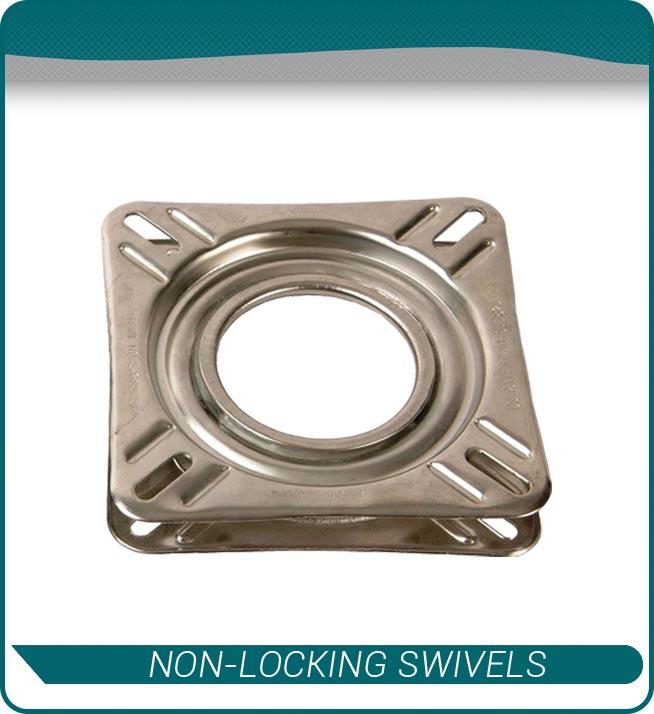 non locking swivels