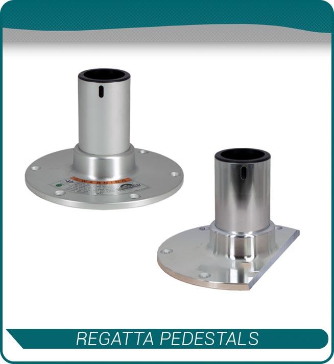 regatta pedestals