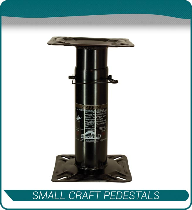 small craft pedestals