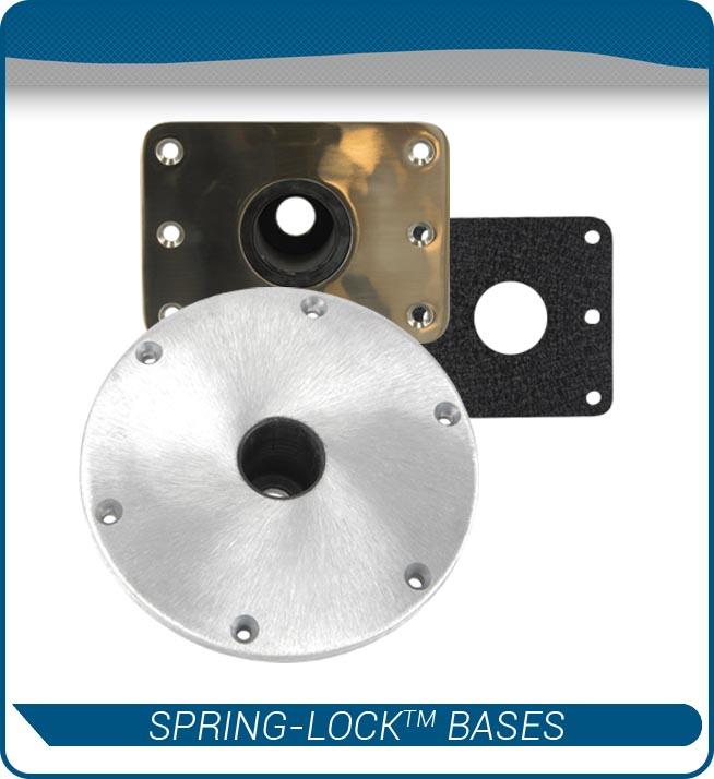spring lock bases