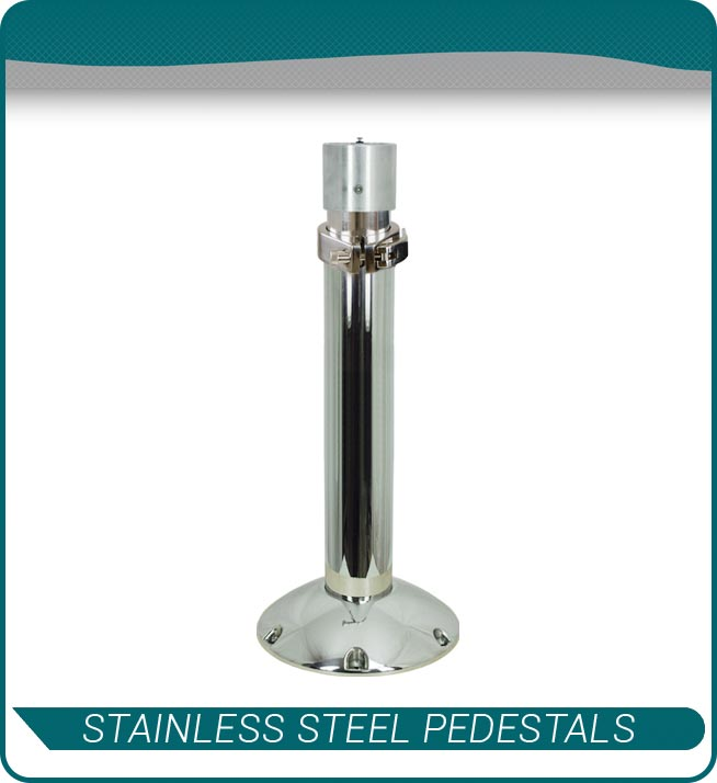 stainless steel pedestals