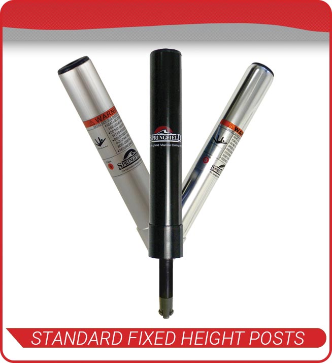 standard fixed height posts