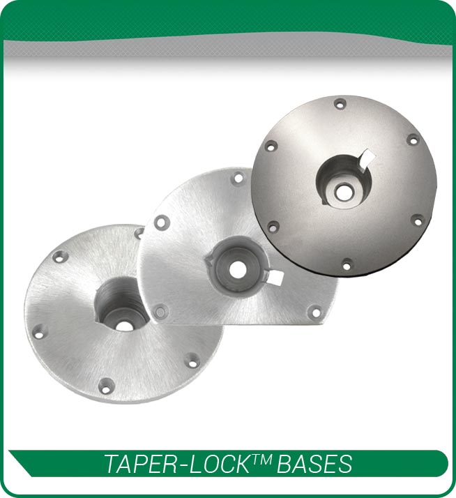 taper lock bases