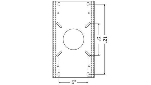 Trac-Lock Slides_Mounting Pattern